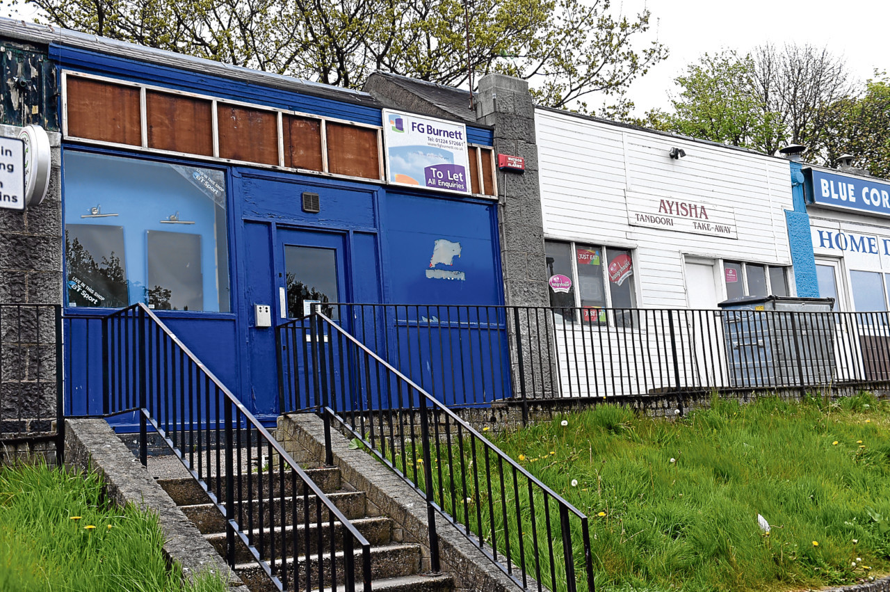 The ex-bookmakers in Balnagask Road could become an ice-cream parlour.