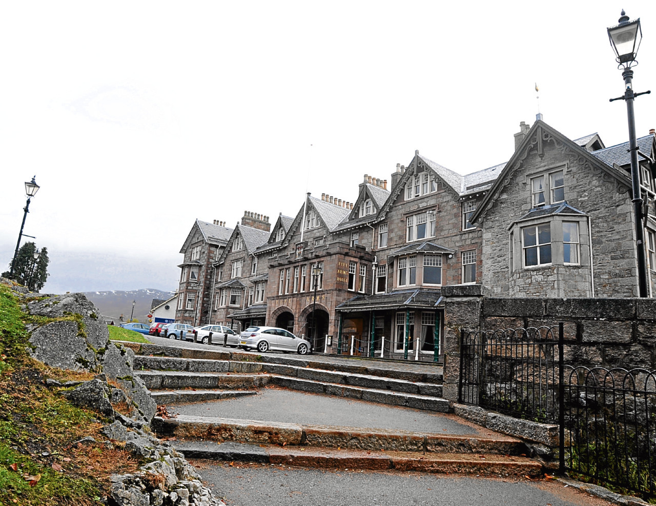 A time capsule was found at the Fife Arms Hotel.