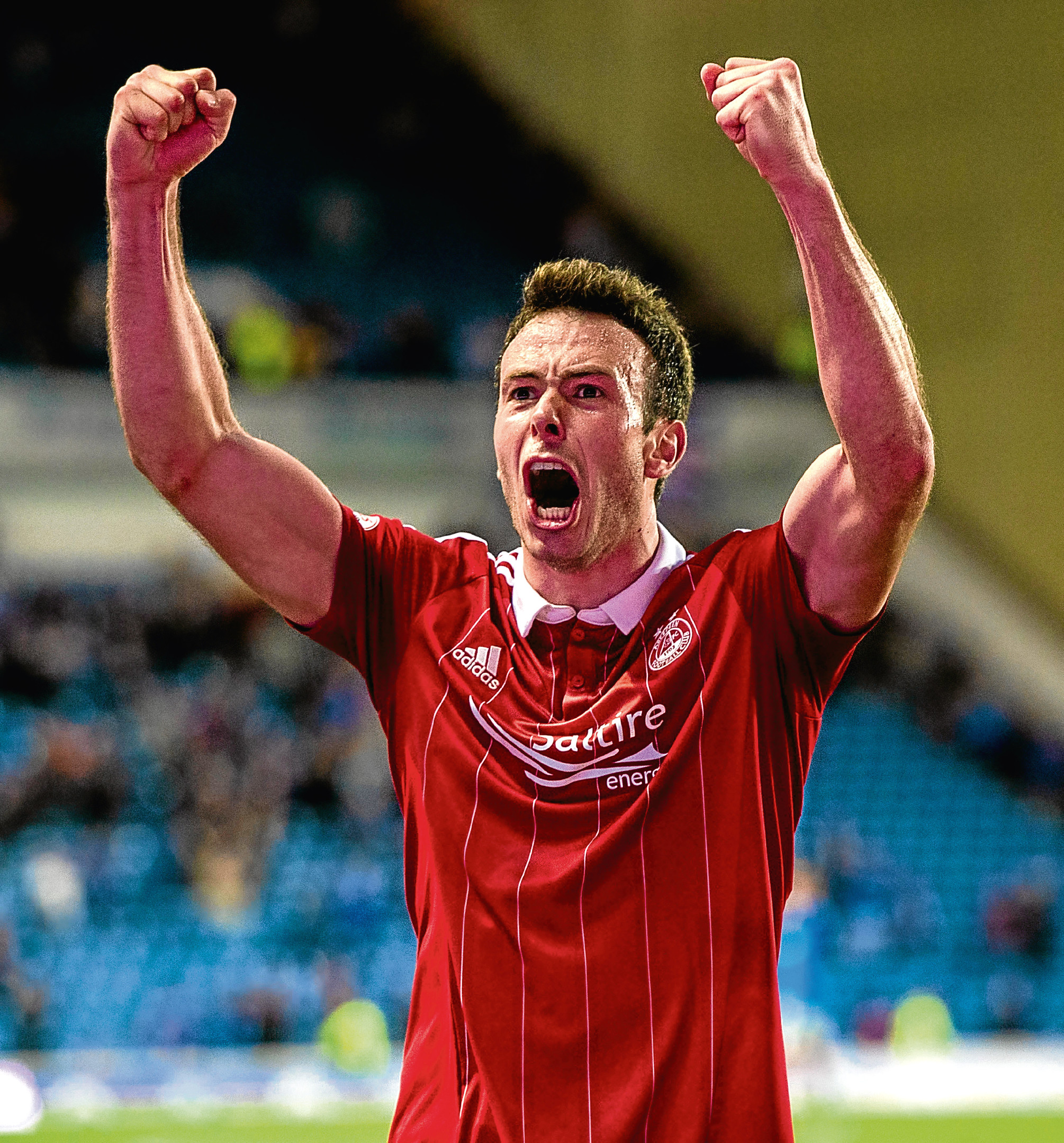 17/05/17 LADBROKES PREMIERSHIP RANGERS v ABERDEEN IBROX - GLASGOW Aberdeen's Andrew Considine at full-time