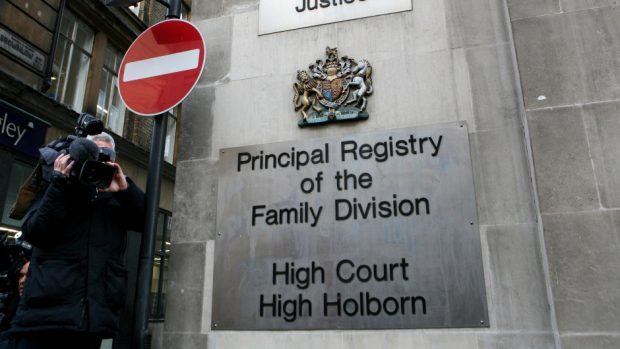 Mr Justice Haddon-Cave did not name anyone in a ruling at the Family Division of the High Court in London