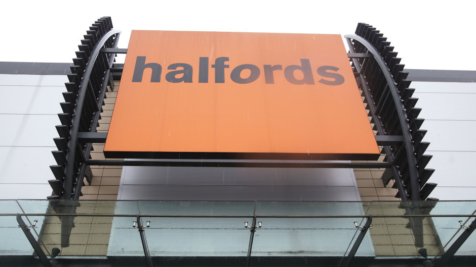 Halfords have reopened stores to customers
