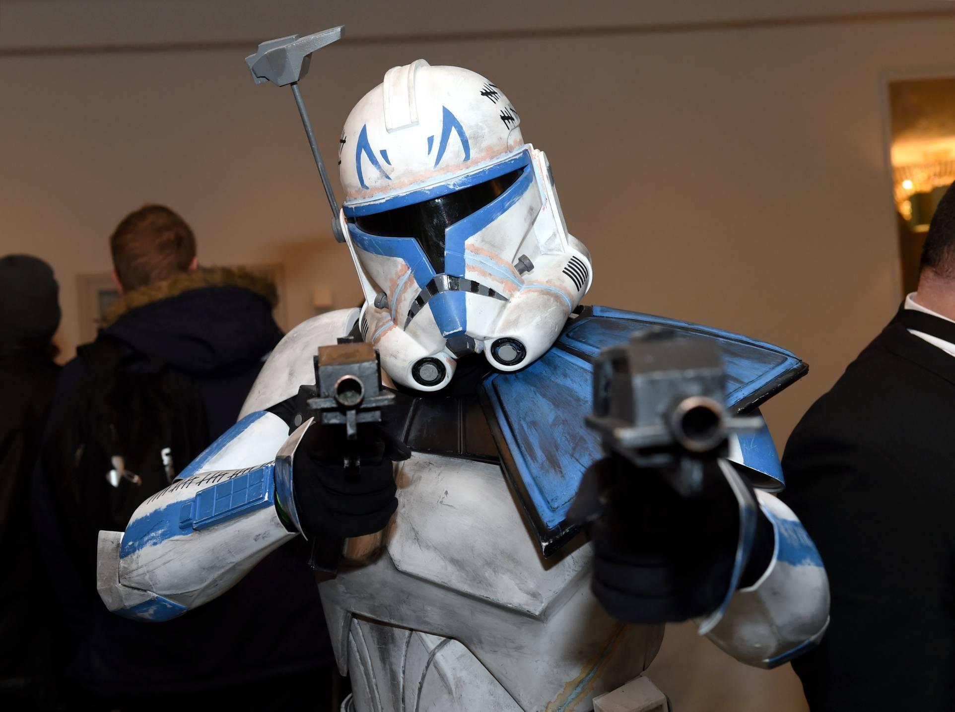 Richard Tonge as Captain Rex from Star Wars.
