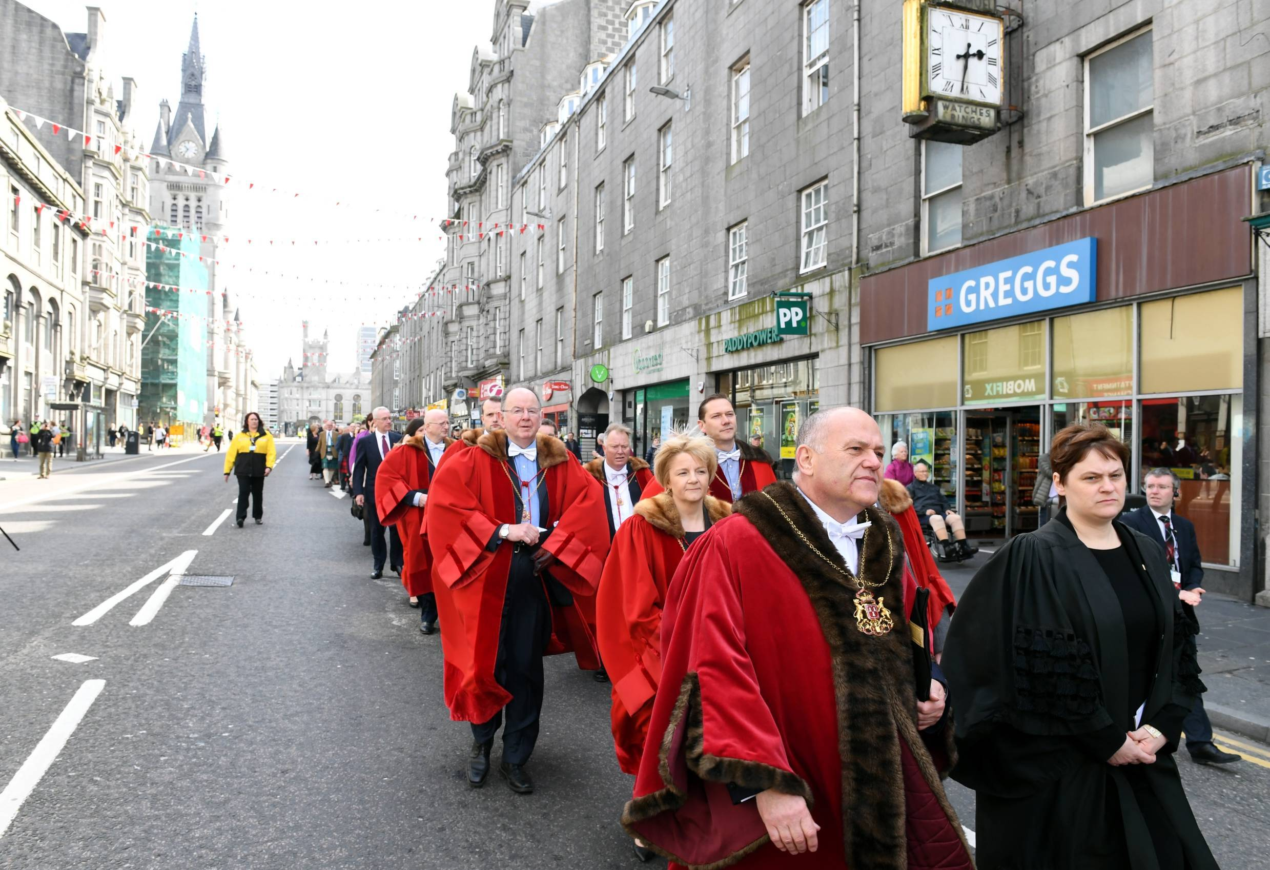 The Kirking of the Council parade