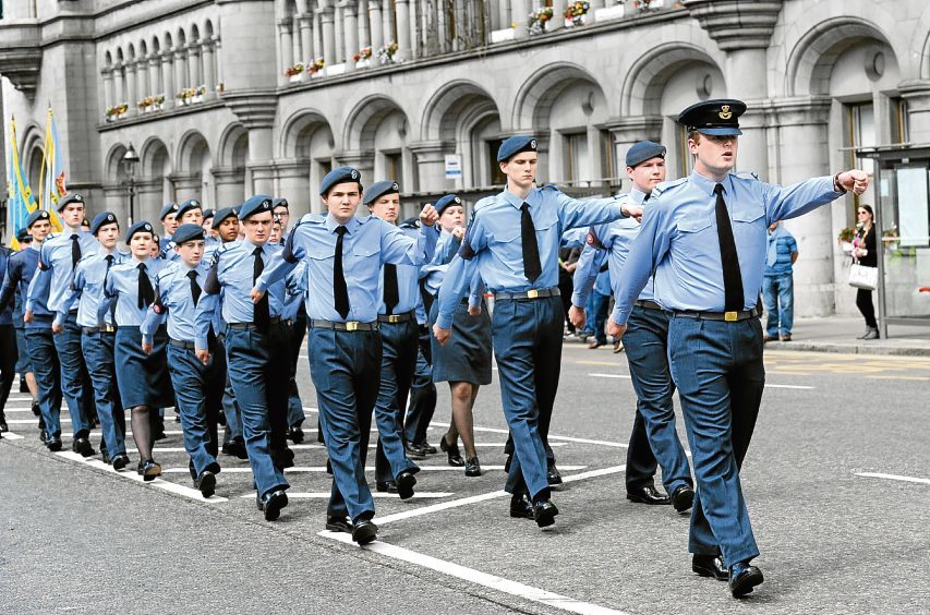Armed Forces Day Parade on Union Street.  24/06/2017. Picture by KATH FLANNERY