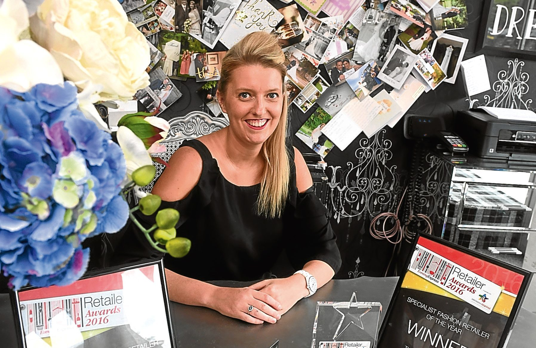 Stephanie Bain said entering the awards had given her business extra exposure.
