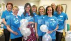 Rachel and her fundraising team last year.