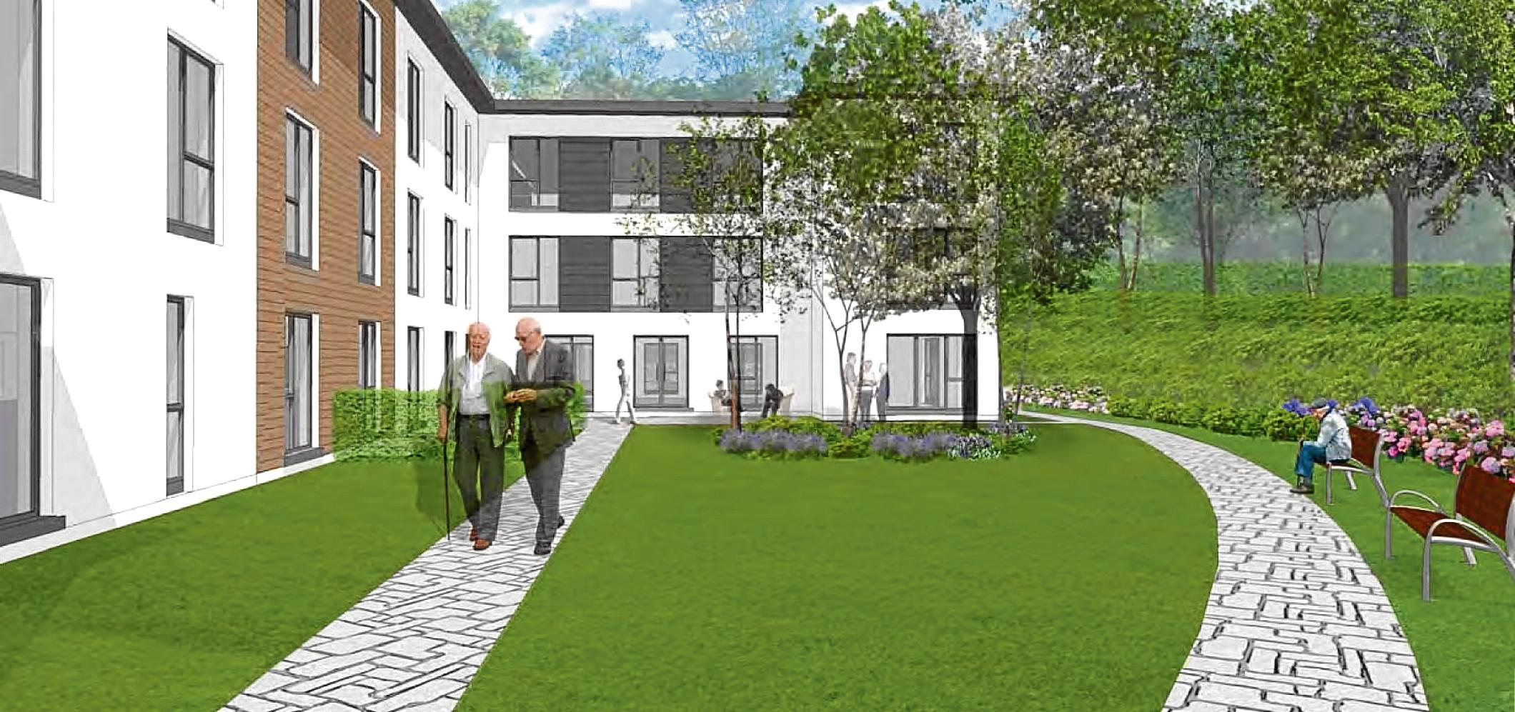 An artist's impression of Dandara's plans for the Hazledene home.