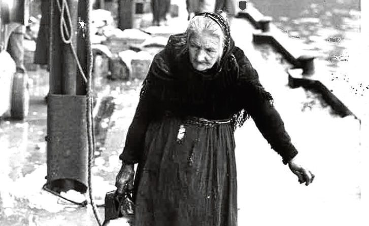 Last fisherwife of Cove, Isie Caie, died in 1966.