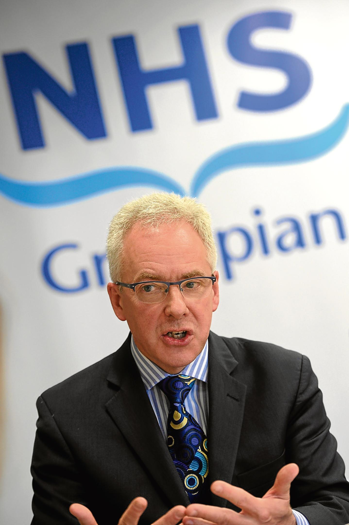 NHS Grampian chief executive Malcolm Wright