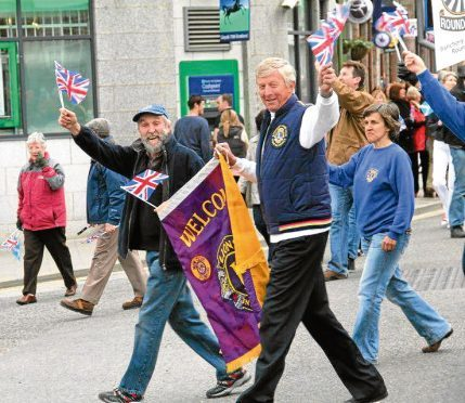 The Banchory Lions during a North-east event