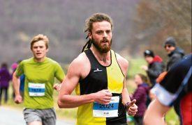 Hill runner Hamish Battle.