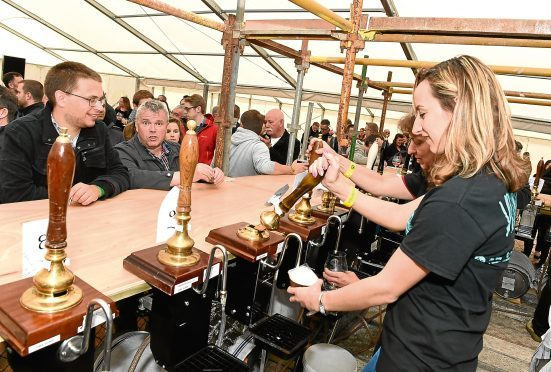The Midsummer Beer Happening raises money for charities.