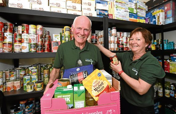 Aberdeenshire North Foodbank helps struggling families