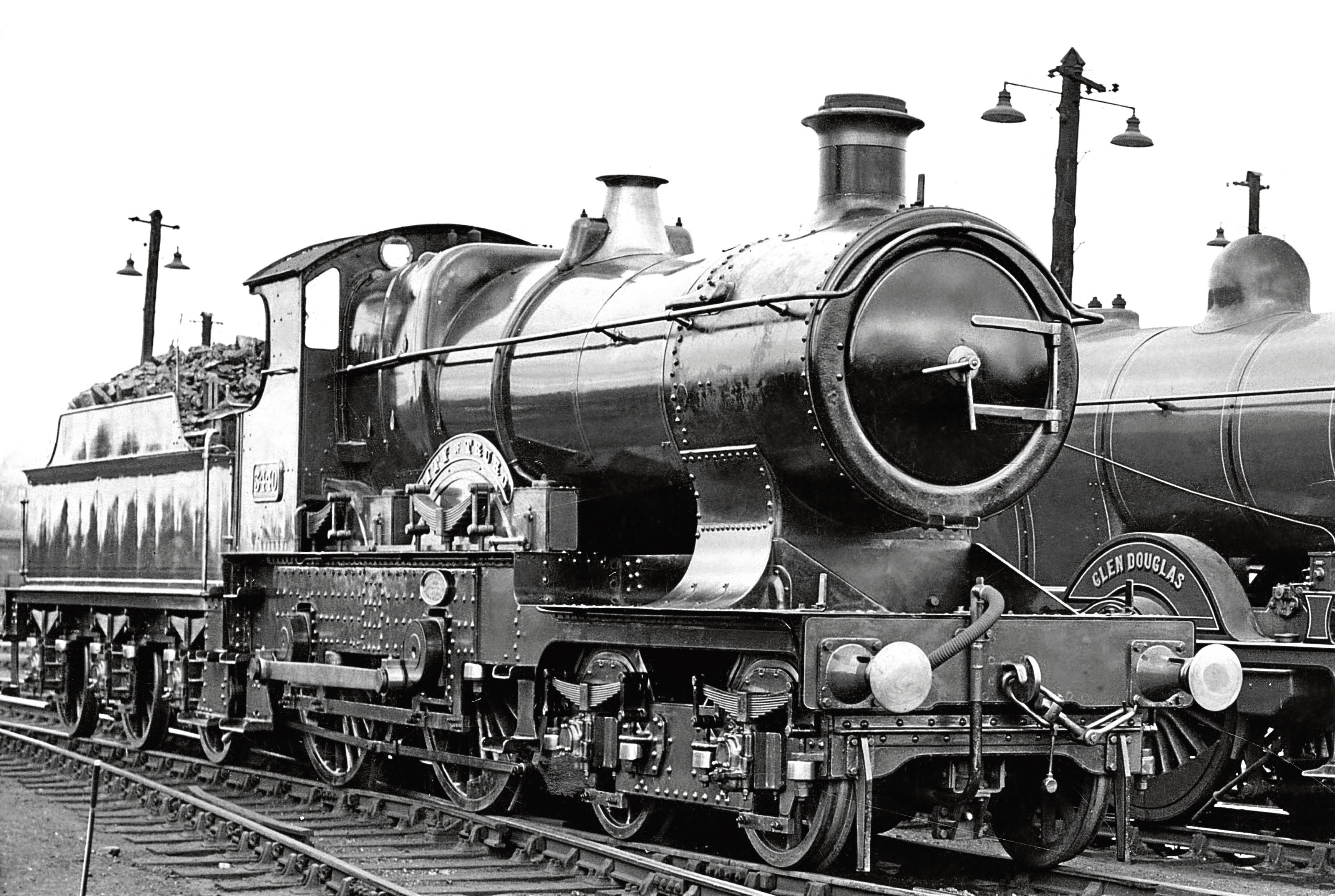 L ocomotive City of Truro on a trip to Aberdeen.
