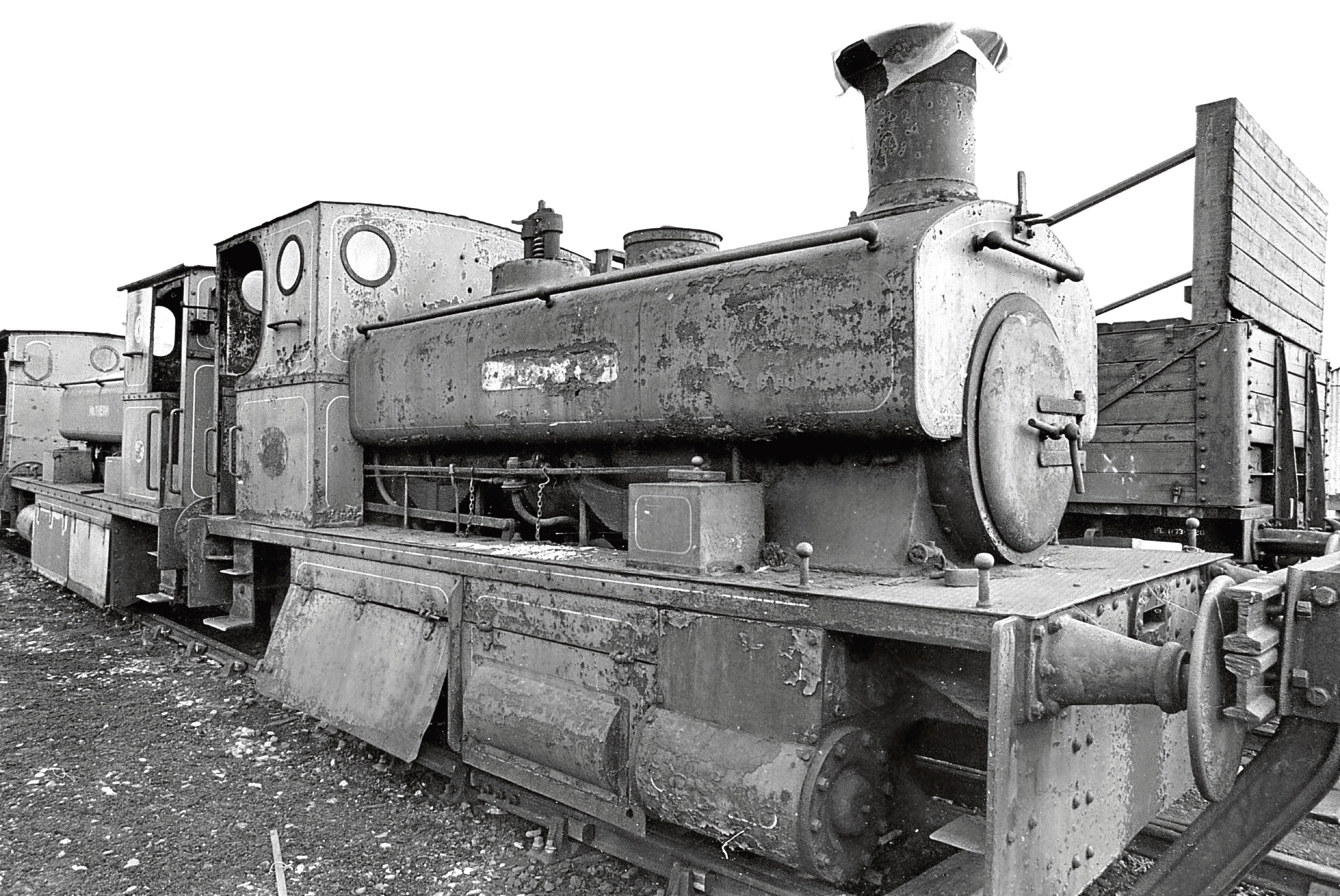 Number Three, one of the vintage shunters which Aberdeen engine lovers planned to restore.