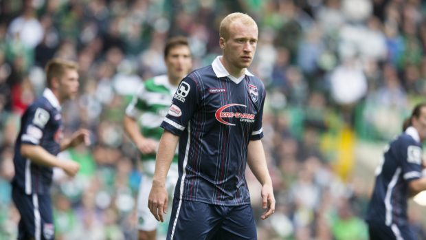 Ross County's Liam Boyce has joined Burton Albion