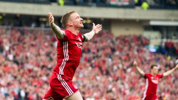 Former Aberdeen winger Jonny Hayes.