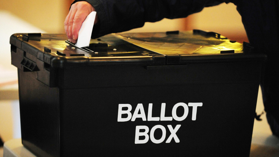 The general election will be held December 12
