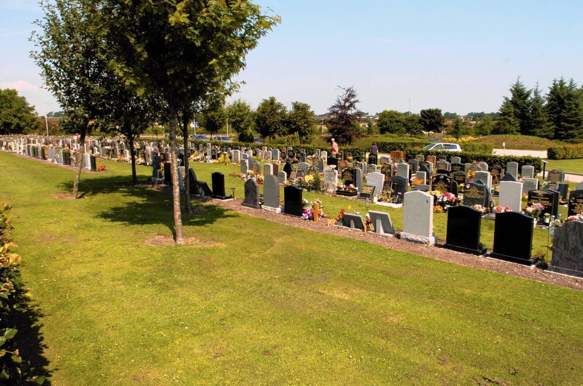 The remains of a fire and mess from a party were found near Hazlehead cemetery
