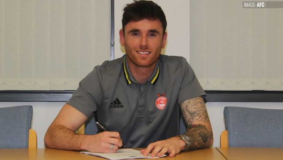 Greg Tansey signs for Aberdeen FC