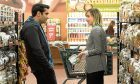 Undated film still handout from The Big Sick. Pictured: Kumail Nanjiani as Kumail and Zoe Kazan as Emily. See PA Feature FILM Digest Picture credit should read: PA Photo/StudioCanal/Sarah Shatz. WARNING: This picture must only be used to accompany PA Feature FILM Digest.