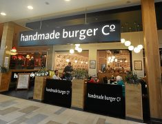 The Handmade Burger Company in Aberdeen's Union Square