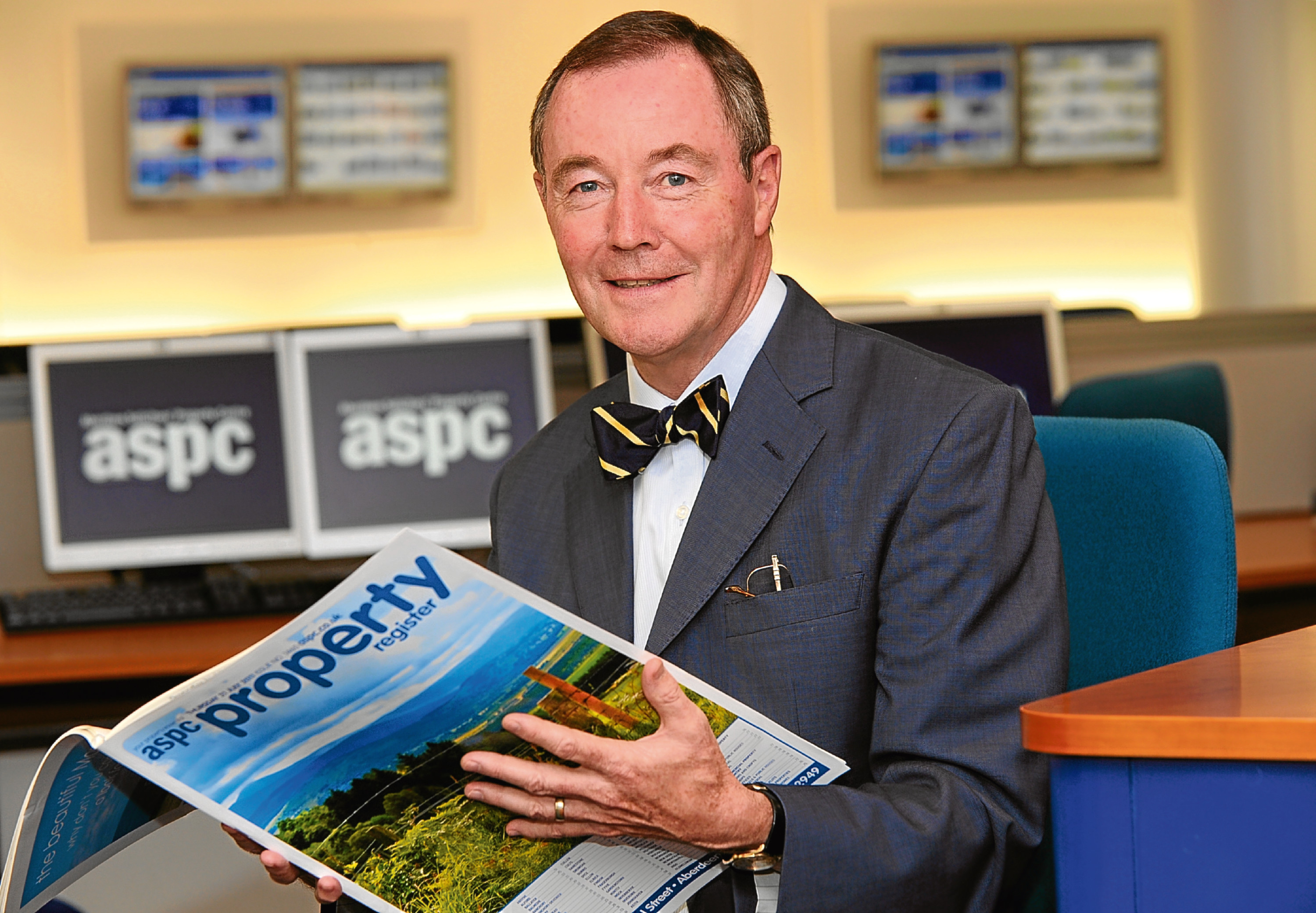 ASPC chairman John MacRae at their property centre on Chapel Street.