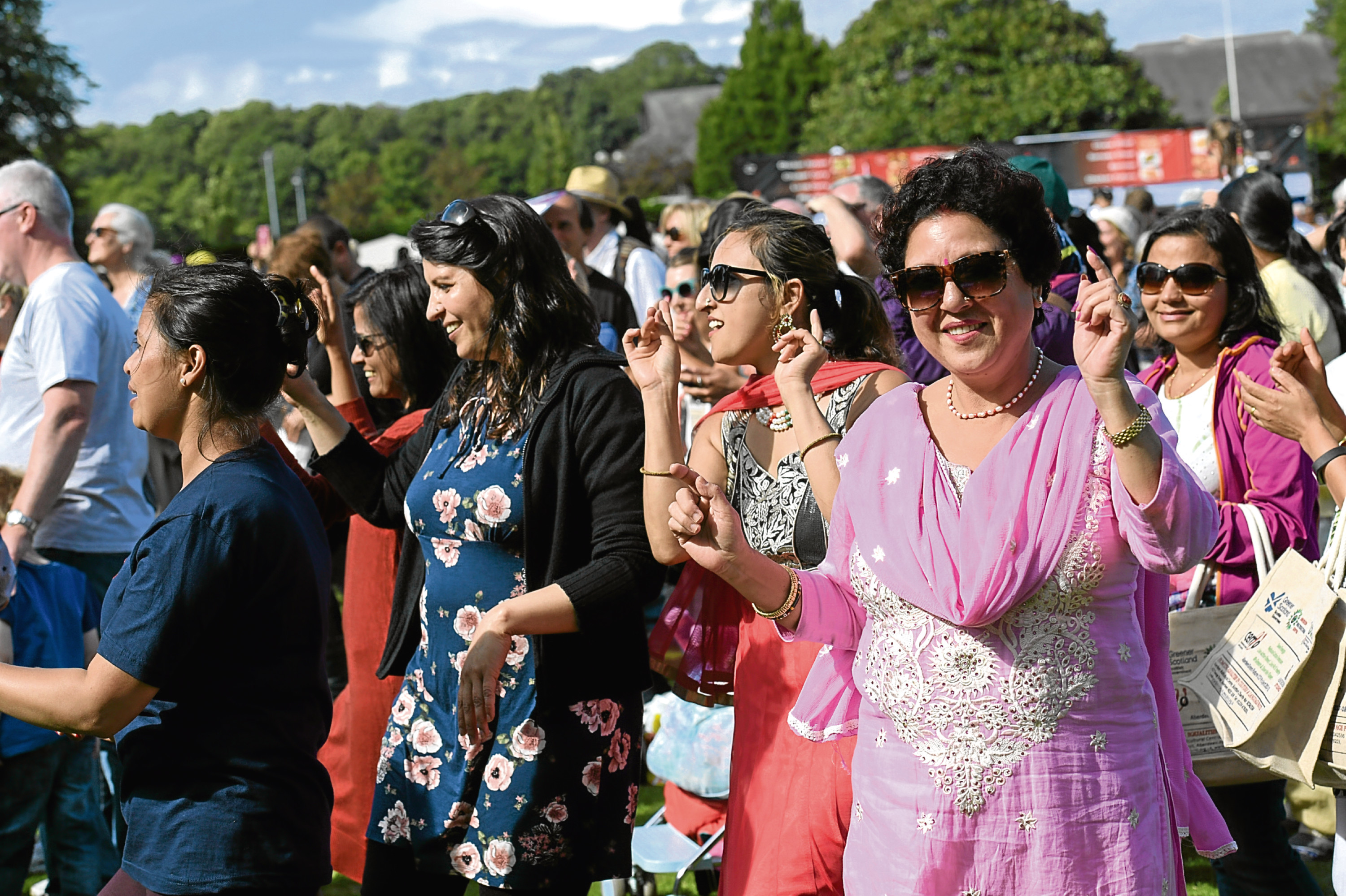 MELA Festival at Westburn Park.  30/07/17. Picture by KATH FLANNERY