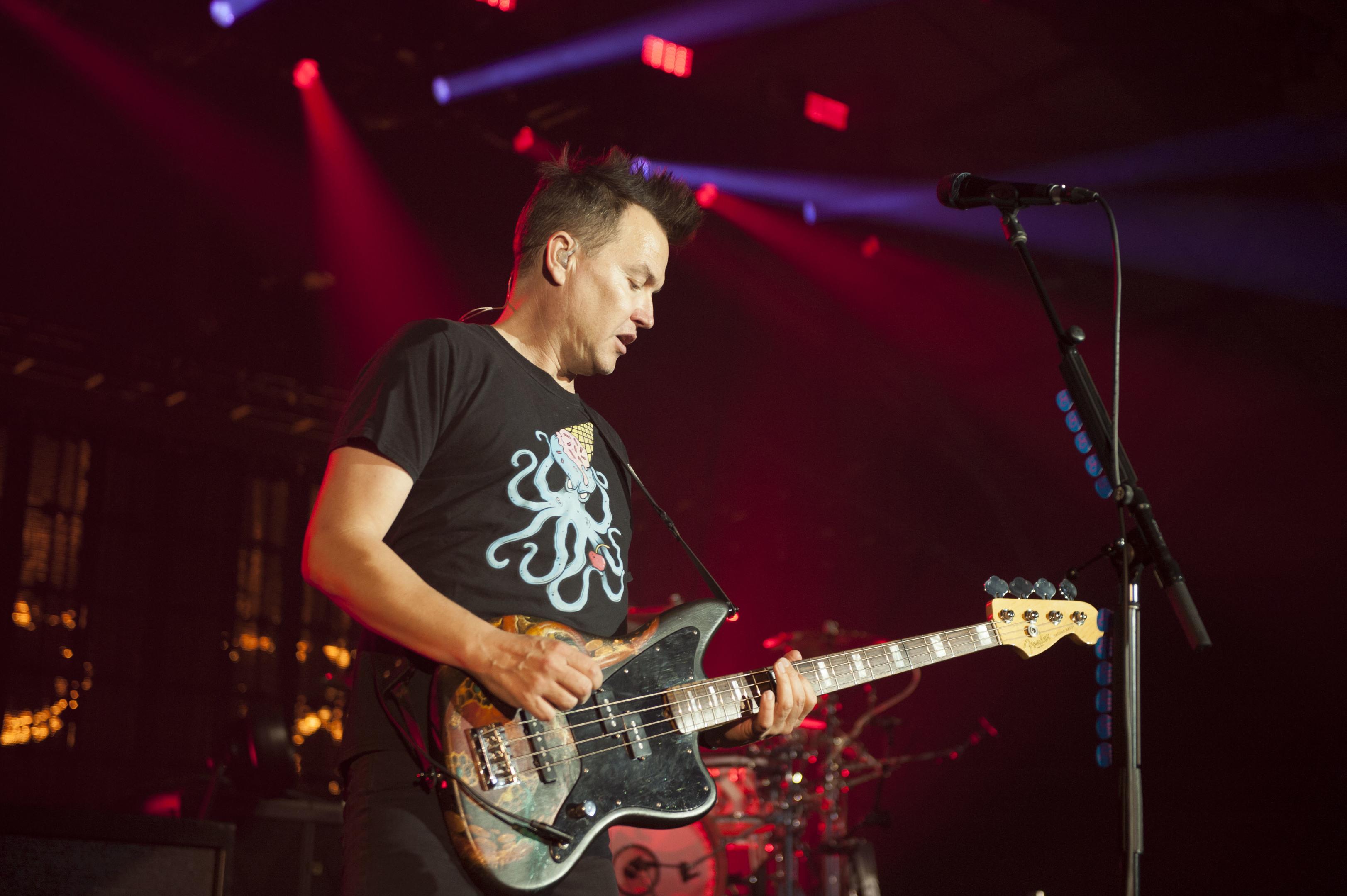 Mark Hoppus of Blink 182