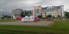 Coastguard helicopter at ARI.