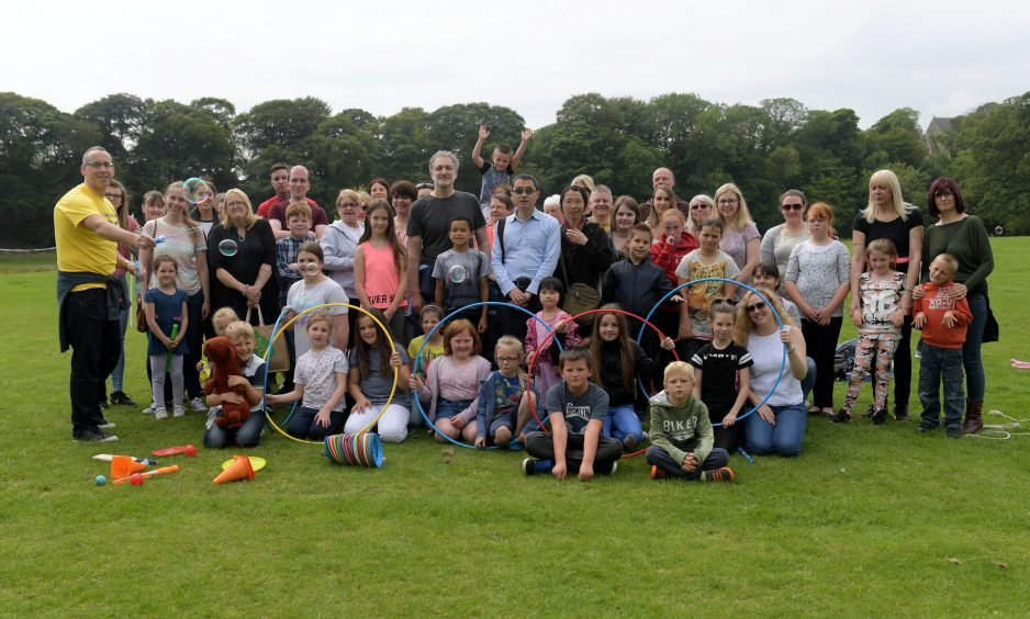 Fun in Focus. Befriend a Child summer outing at Seaton Park. 22/07/2017. Picture by KATH FLANNERY