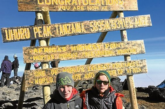 Mount Kilimanjaro is the tallest mountain in Africa at 5,895m.