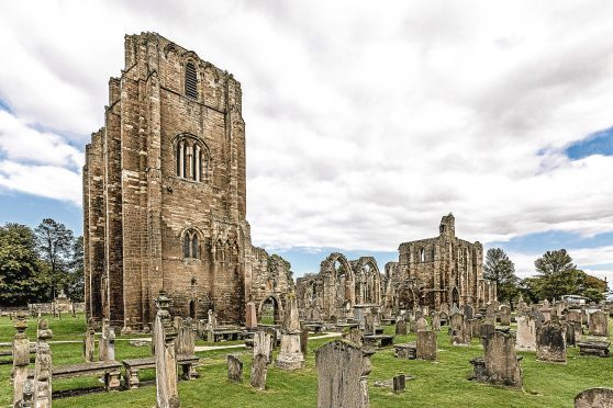 Elgin Cathedral will provide the backdrop for the production.