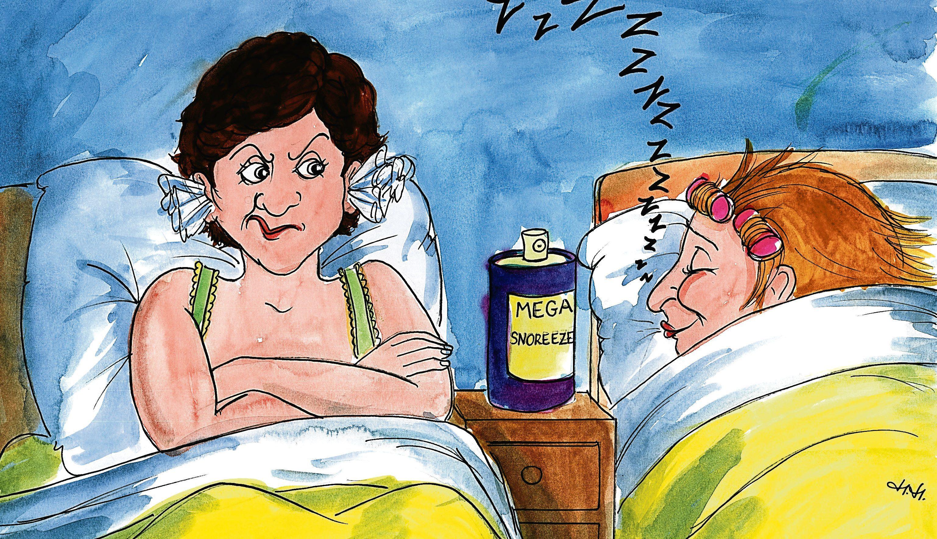 Cartoon by Helen Hepburn