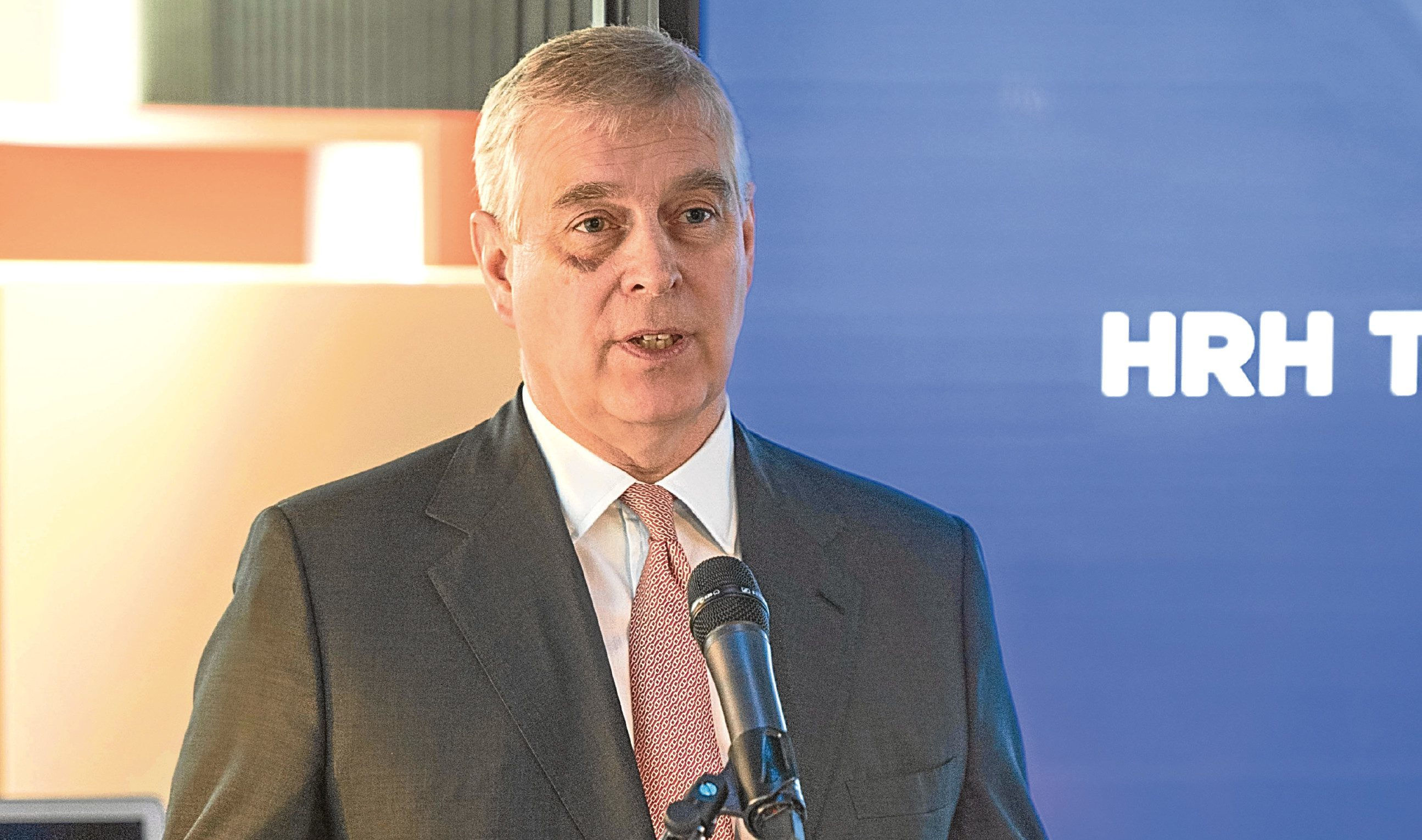 The Duke of York congratulated the two companies