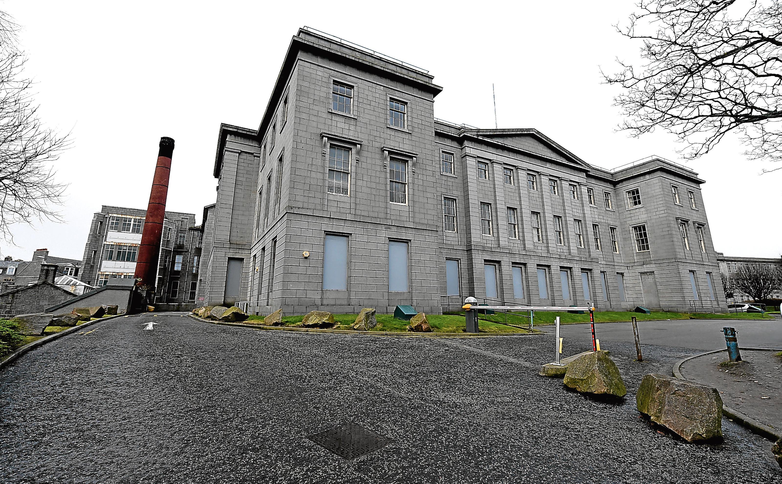 NHS Grampian is set to make money selling buildings.
