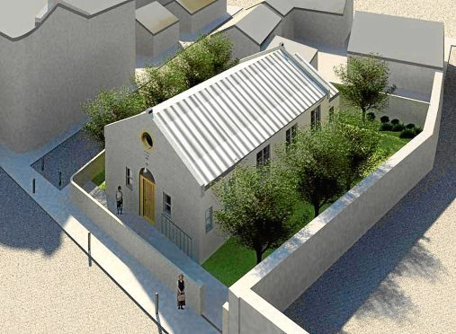 An artist's impression plans for the hall