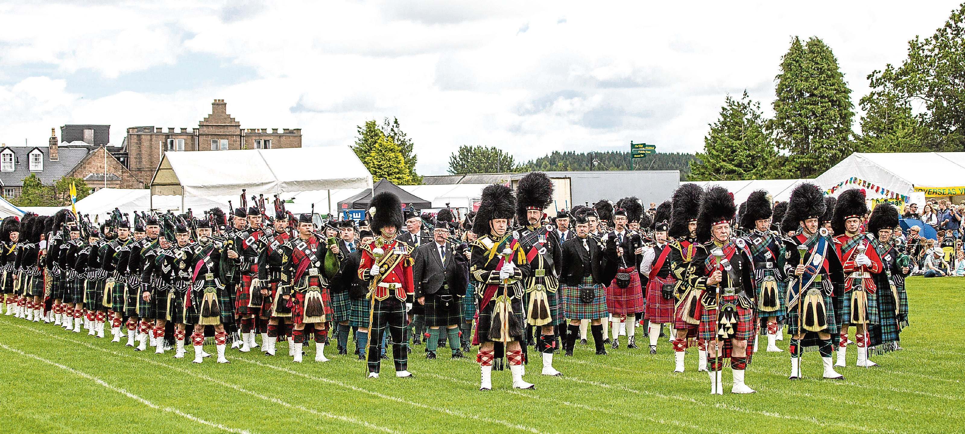 Aboyne Highland Games will celebrate a special anniversary on August 5.