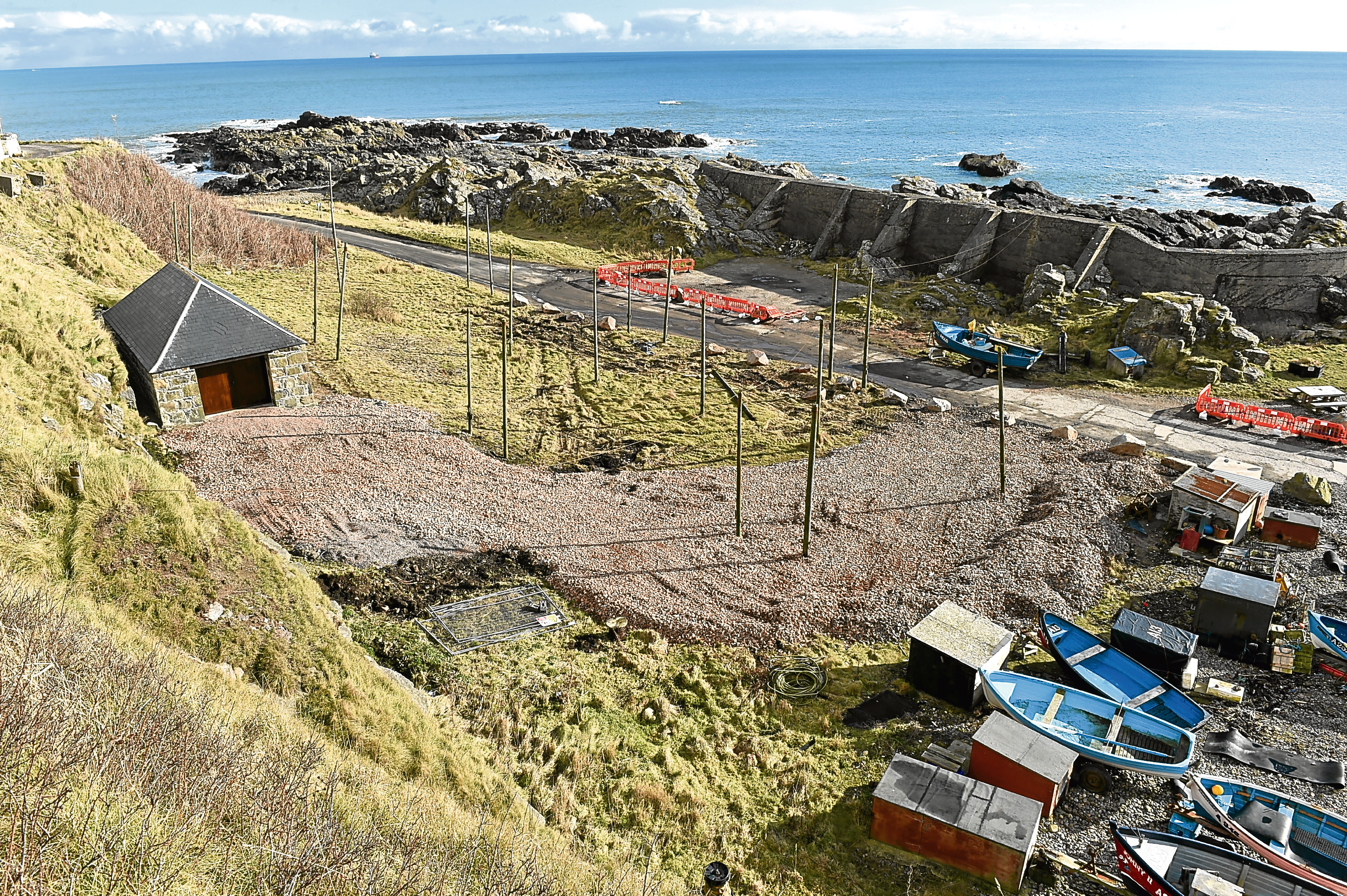 Vehicular access to Cove Harbour is now to be banned.