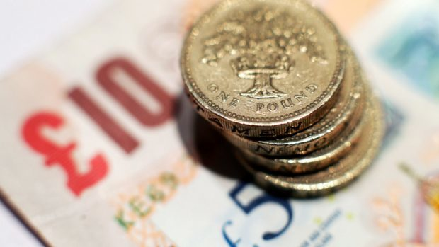 The pension fund's value fell by around £1 million last year