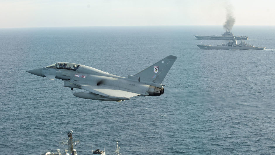 The Typhoon force is currently operationally based at RAF Coningsby in Lincolnshire, RAF Lossiemouth in Scotland and the Falkland Islands (MoD)