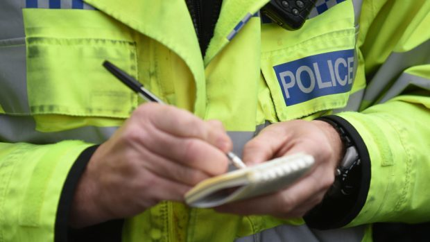 A cyclist has been injured following a collision with a car