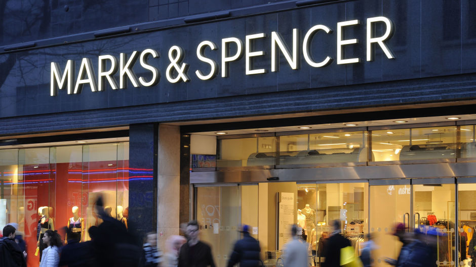 Marks and Spencer will reopen their homeware and clothing section