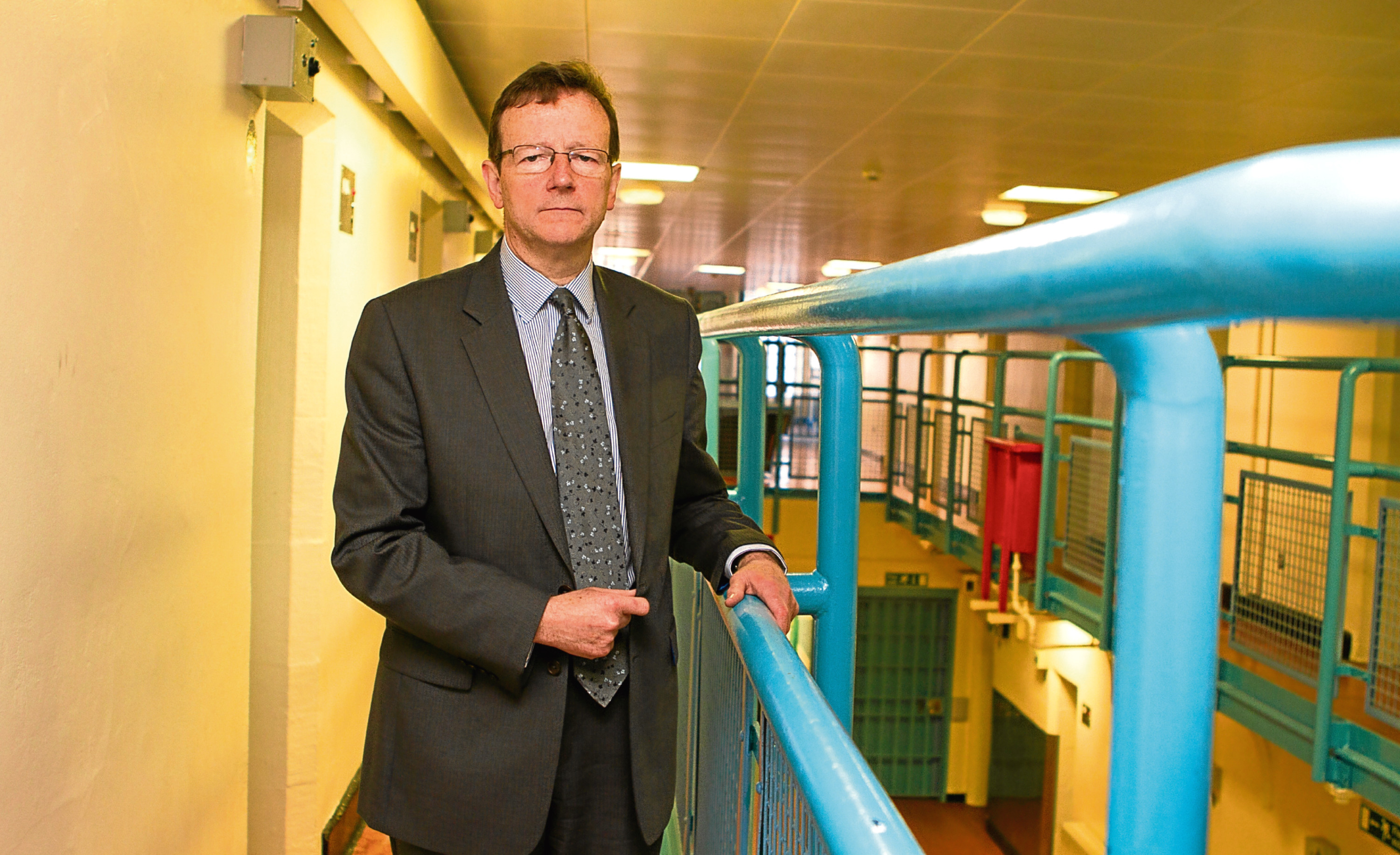 11/06/15 Sunday Post   HMP Perth  David Strang is HM Chief Inspector of Prisons for Scotland.