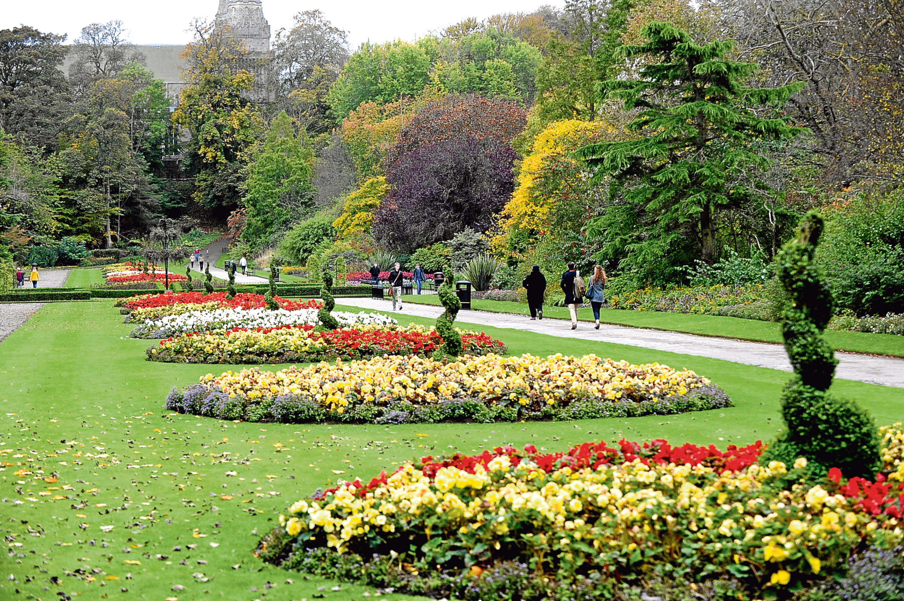 Seaton Park for Britain in Bloom