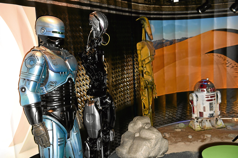Last year's Robot Exhibition Aberdeen Science Centre