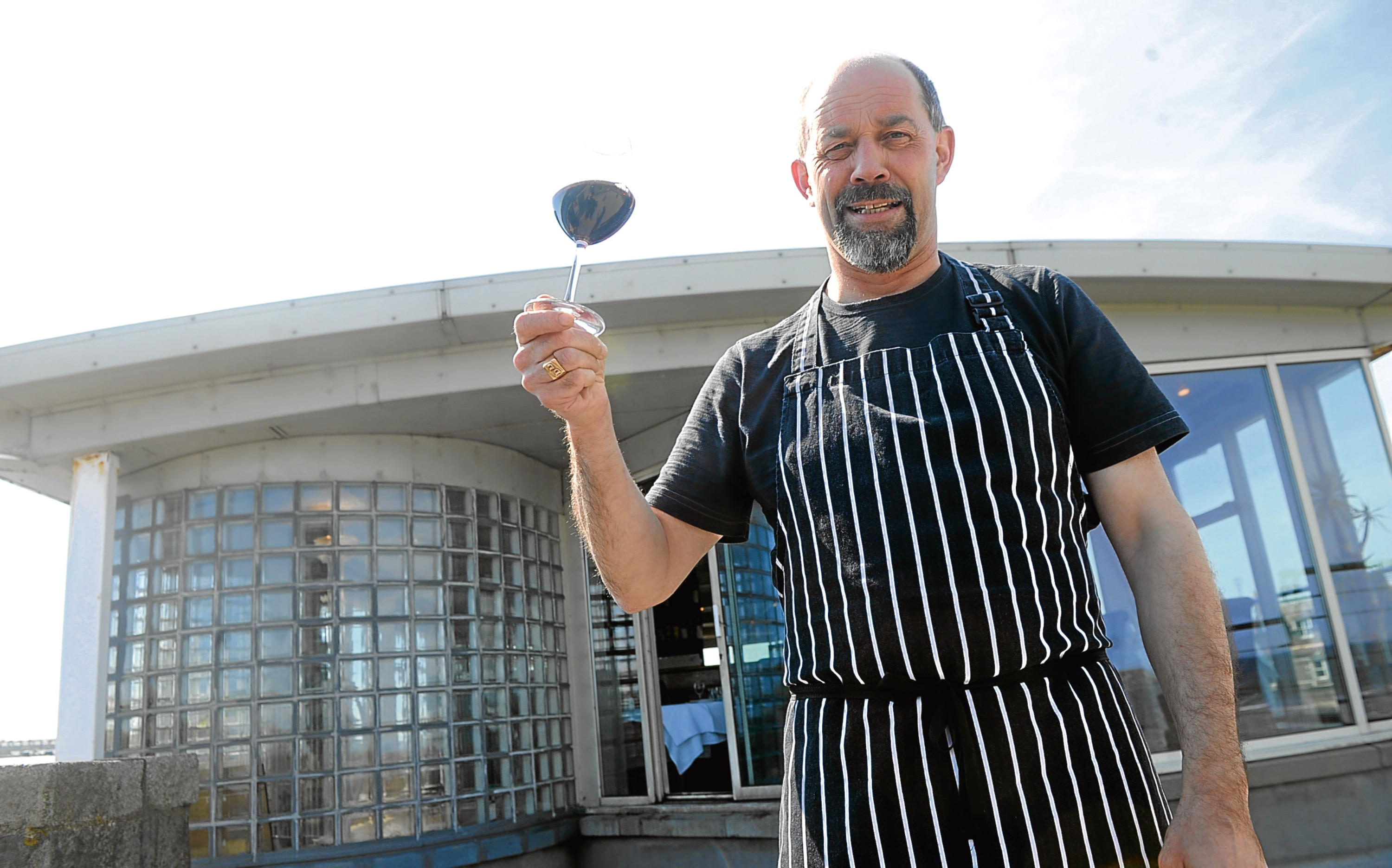 The Silver Darling's owner and chef Didier Dejean