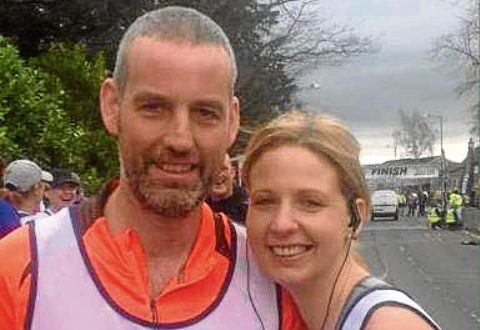 Aberdeen man Mark Albiston, who is trekking Machu Picchu, with his sister Julie