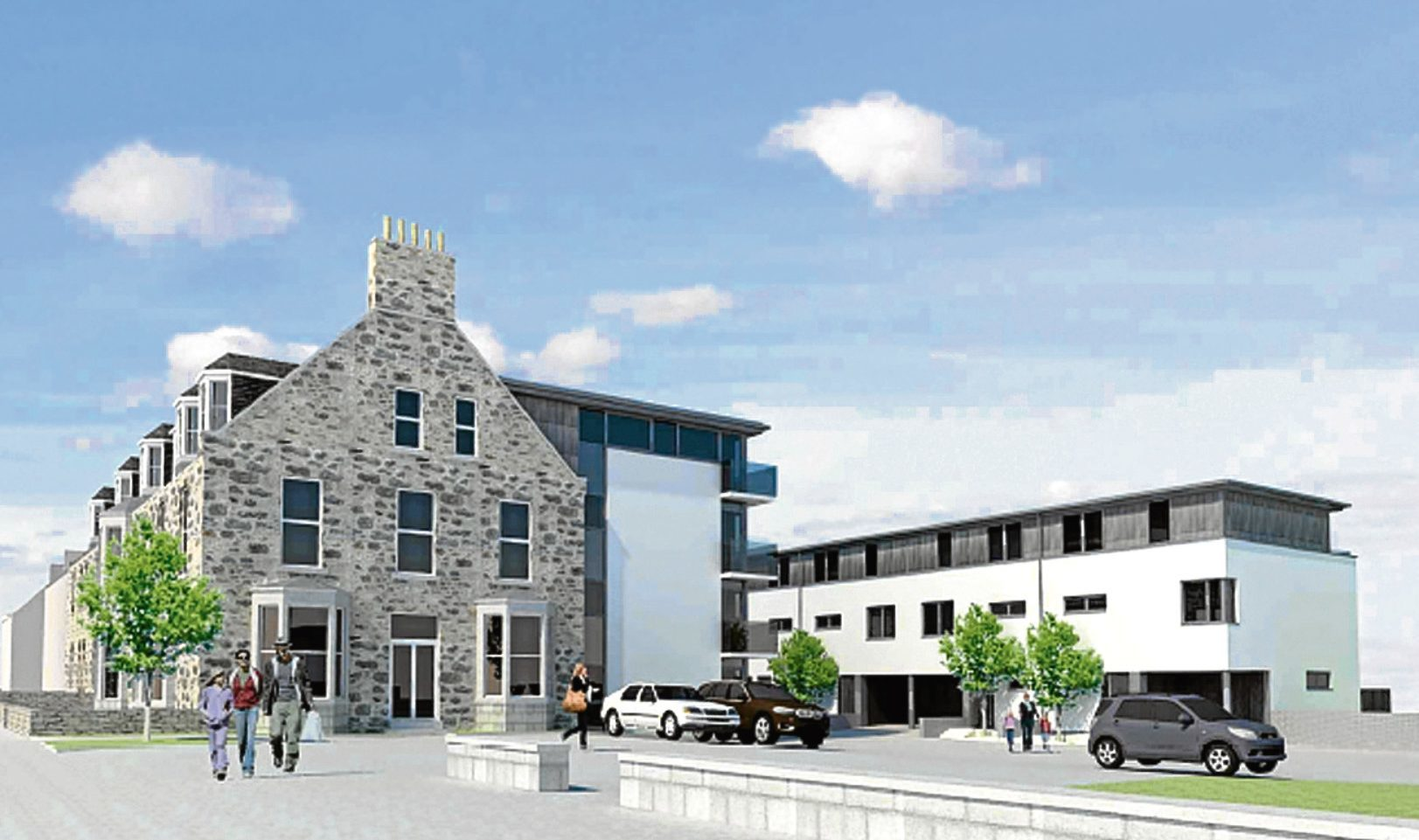 How the former Udny Arms Hotel in Newburgh could look