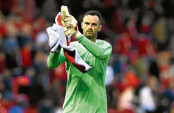 Aberdeen's Joe Lewis.